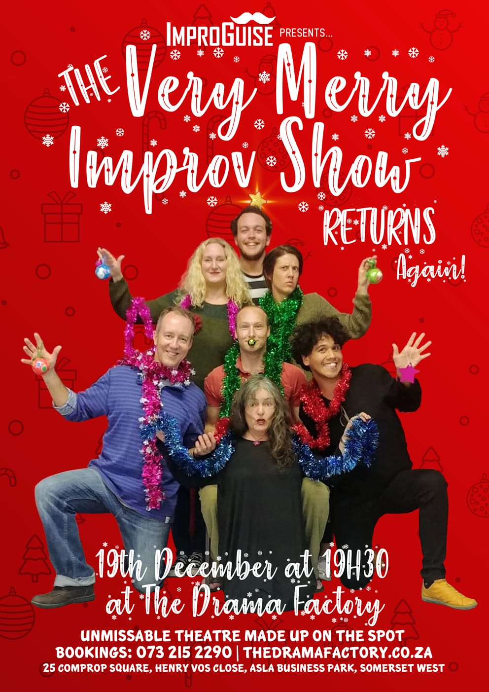 Get your Christmas Improv on